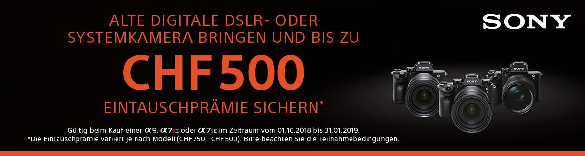 Sony Aktion Alt-gegen-Neu bei HeinigerAG.ch