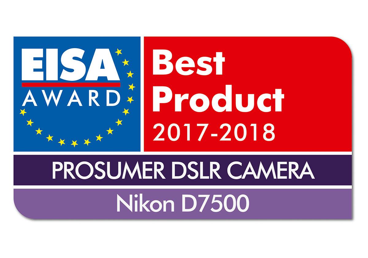 Nikon D7500 EISA Auszeichnung